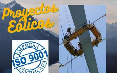 Nuevos servicios que ofrece ARRISERVICE en Proyectos Sector Energía Eólica